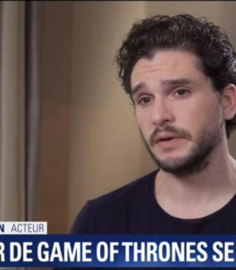 """Kit Harington """"content"""" de laisser """"Game of Thrones"""" derrière lui"""