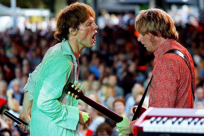 De 'Stones' op een eerdere editie van het festival bij De Wolfsberg, vertolkt door de tributeband Voodoo Lounge.
