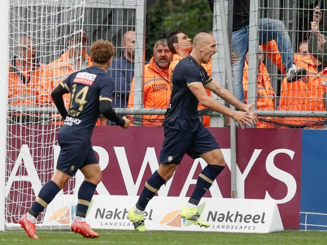 Antwerp wint dankzij doelpunt van topschutter Frey met het kleinste verschil in Eupen