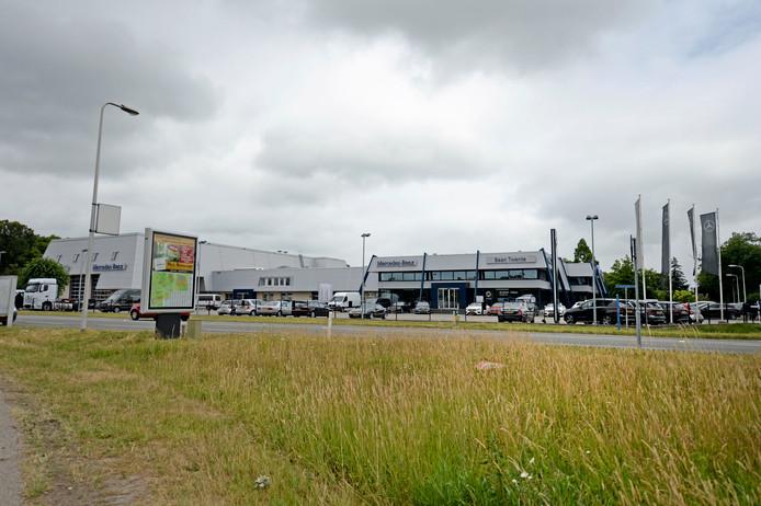 Ongekend Geen bezwaren: extra showroom autobedrijf Baan mag in Zuna ZL-44