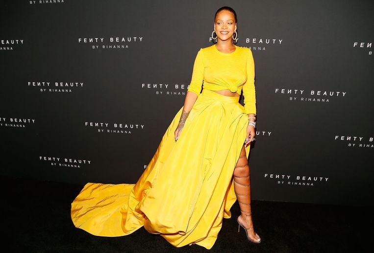 Rihanna in september 2017 in New York. Beeld WireImage