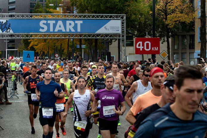 AFGEKOCHT start marathon Eindhoven