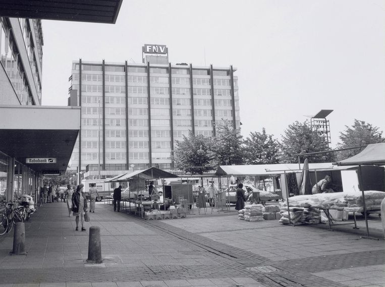 Plein 40-45 op 27 juli 1976. Beeld Stadsarchief