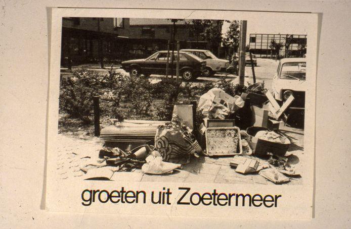 Ansichtkaart uit 1980 van de gemeente.