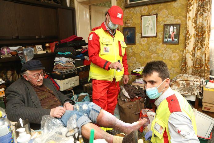 Het Rode Kruis helpt momenteel onder meer de slachtoffers van de overstromingen in Trooz.