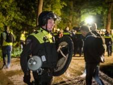Ruim vijftig in Boxtel opgepakte activisten zijn buitenlanders, slechts negen Nederlanders aangehouden