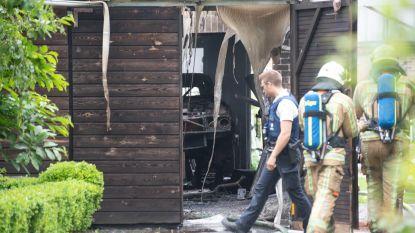 Man loopt zware verwondingen op bij garagebrand
