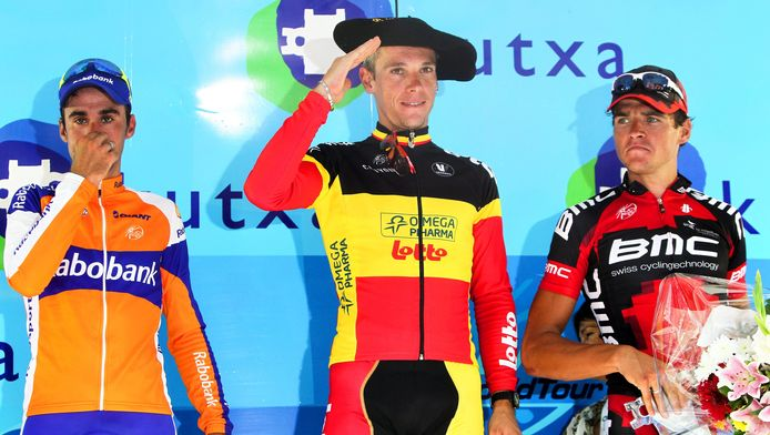 Vorig jaar was Gilbert de sterkste in de Clasica San Sebastian.