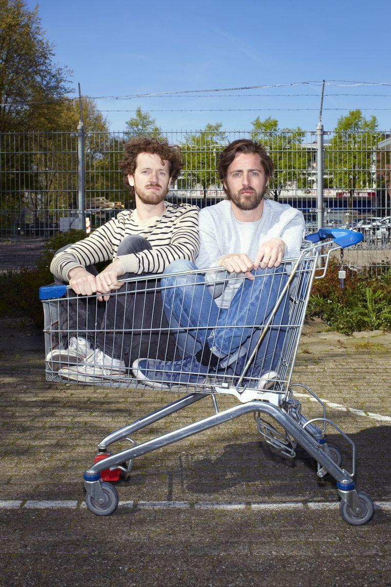 Hugo van¿Woerden (links) en Philip¿Brink Beeld Daniel Cohen