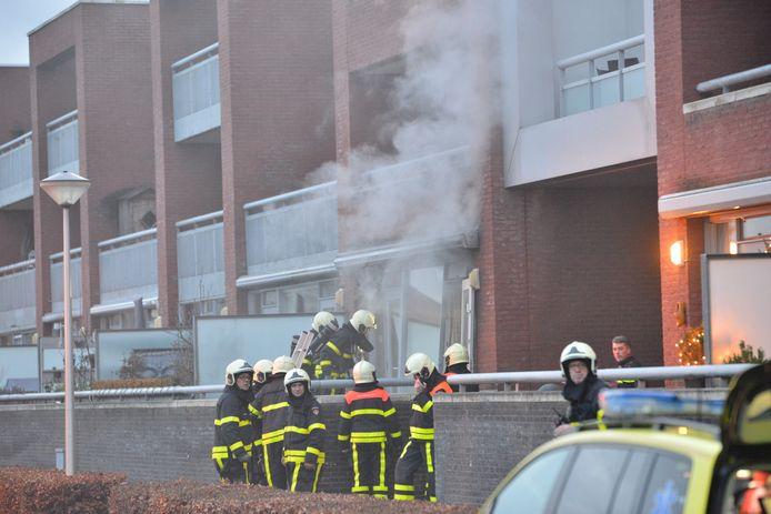 Brand in Etten-Leur.
