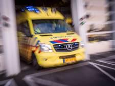 Motorrijder gewond na aanrijding op Holysingel
