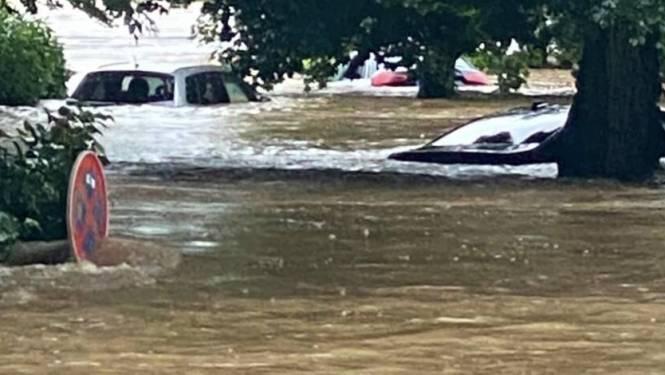 Ook centrum Durbuy loopt onder water