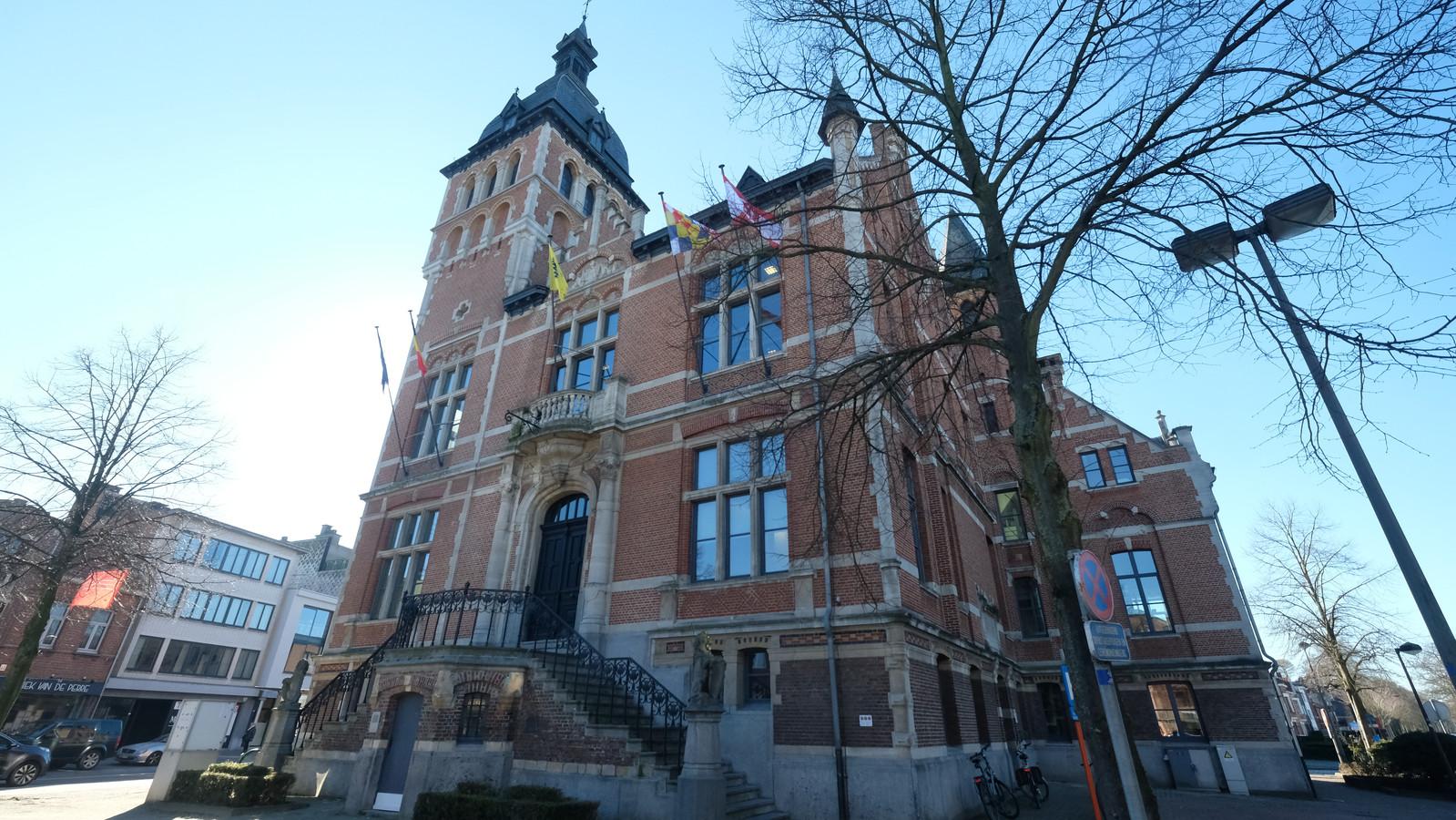Het oude gemeentehuis van Brasschaat.