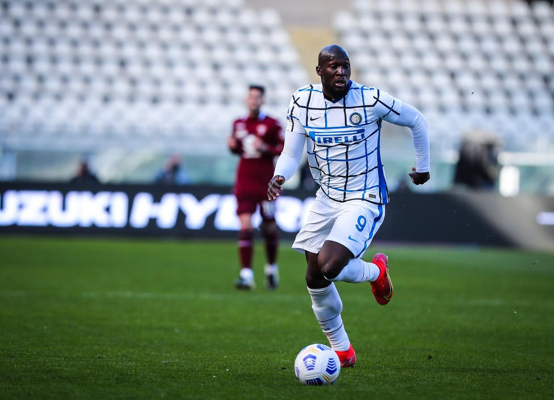Inter geeft Romelu Lukaku niet vrij voor de interlands eind deze maand. Beeld Photo News