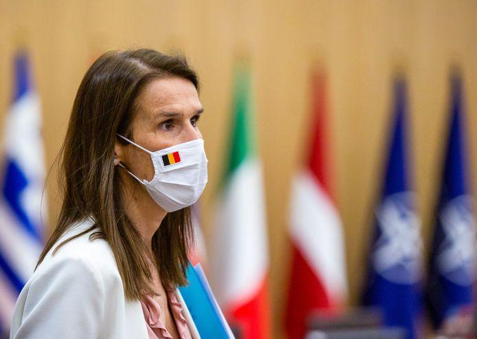 La ministre des Affaires étrangères Sophie Wilmès.