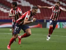 Carrasco buteur, l'Atlético met la pression sur le Real