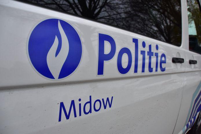 De politie van de zone MIDOW stond in voor de vaststellingen van het ongeval langs de N50 in Ingelmunster.