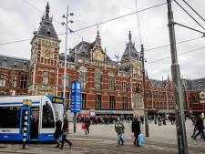 Apeldoorn kaart treinverbinding Amsterdam aan
