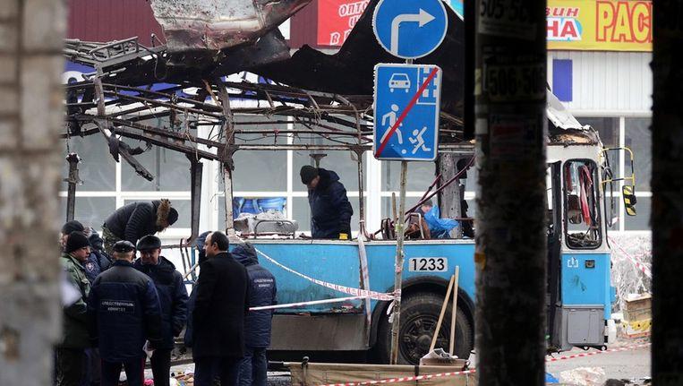 De aanslag in Volgograd is de aanleiding van extra veiligheidsmaatregelen. Beeld epa