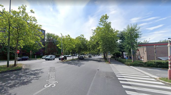 Het ongeval gebeurde op de Sylvain Dupuislaan in Anderlecht.