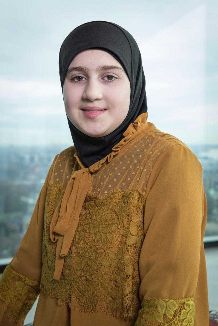 Samia Elaz Beeld Dingena Mol