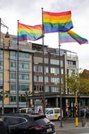 Hasselt, in alle kleuren van de regenboog.