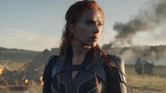 Scarlett Johansson, alias Natasha Romanoff.