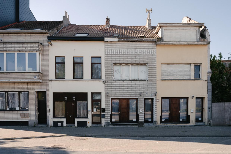 De oude prostitutiebuurt in Oostende. Beeld Damon De Backer