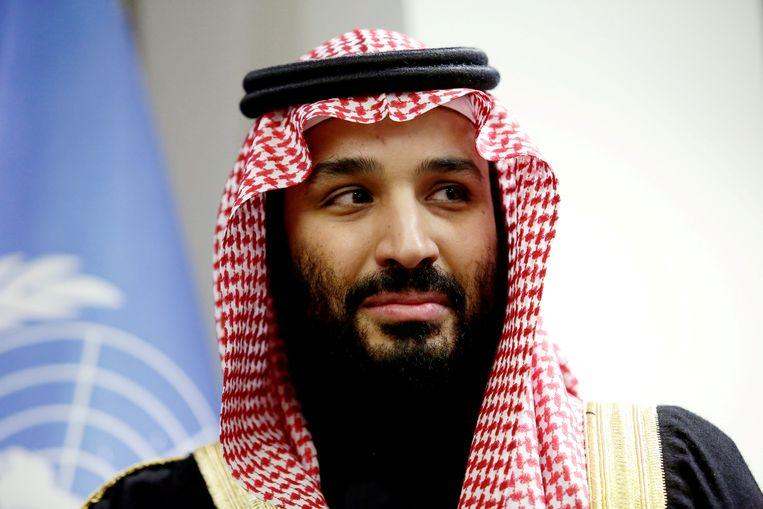 Kroonprins Mohammed bin Salman.