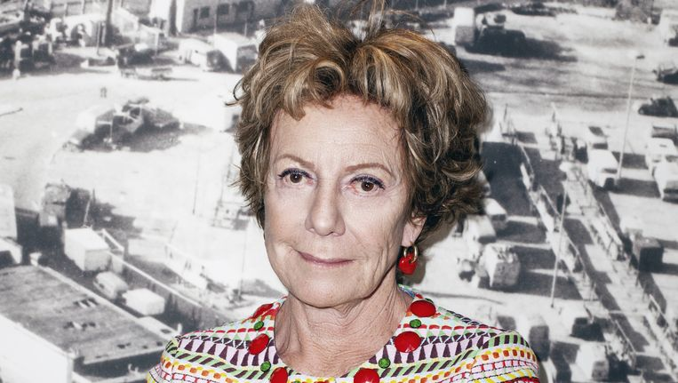 Neelie Kroes: 'Ik kan me goed voorstellen dat het team weleens dacht: dat mens houdt nooit op.' Beeld Linda Stulic