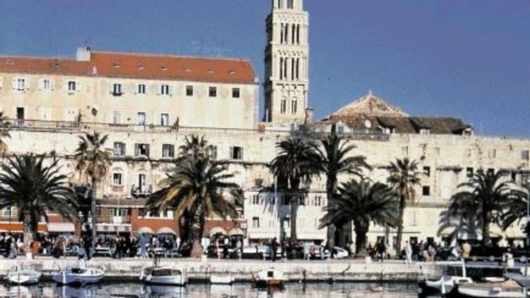 Het paleis van Diocletianus is de blikvanger van de Dalmatische hoofdstad Split. ( FOTO ANDRIJA CARLI ) Beeld