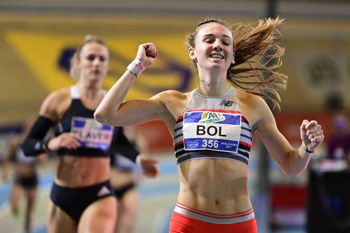Femke Bol snelde opnieuw naar een Nederlands record.