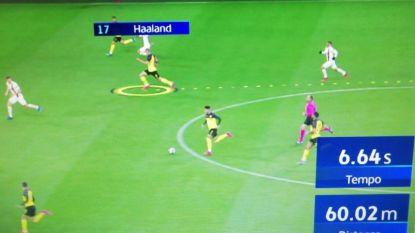 Ha(a)llucinant! Een waanzinnige sprint en de zotste cijfers van de nieuwe Noorse voetbalgod op een rij