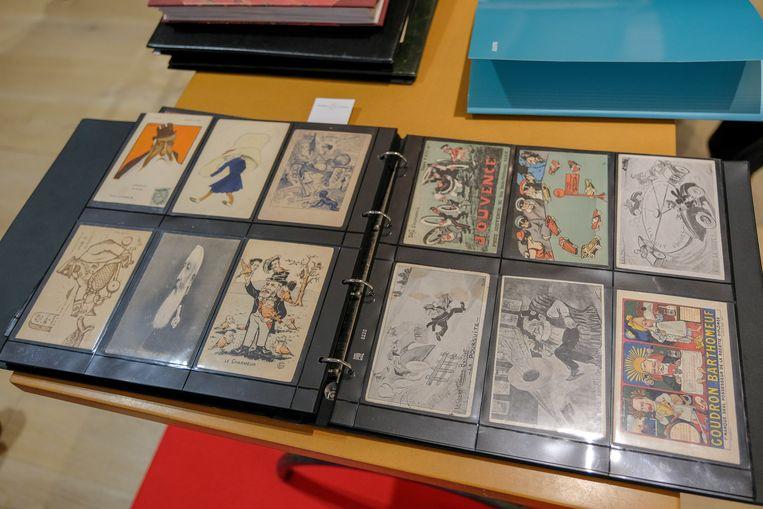 Veiling stukken over Leopold II: de verzameling satirische postkaarten wordt op 3.000 tot 3.500 euro geschat