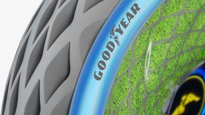 Autoband van de toekomst gaat zuurstof produceren
