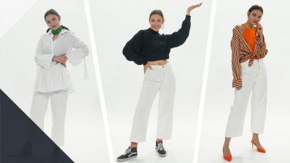 Contour: De witte broek is helemaal terug