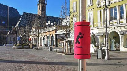 Kussen beschermt voetgangers die zijn afgeleid door smartphone