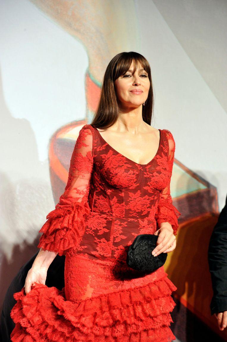 Monica Bellucci. Beeld Photo News