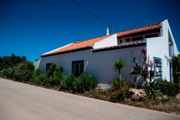 Het huurhuis waar verdachte Brückner in 2007 woonde ten tijde van de verdwijning van Maddie.