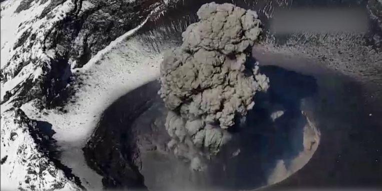 Popocatépetl-vulkaan, Mexico.