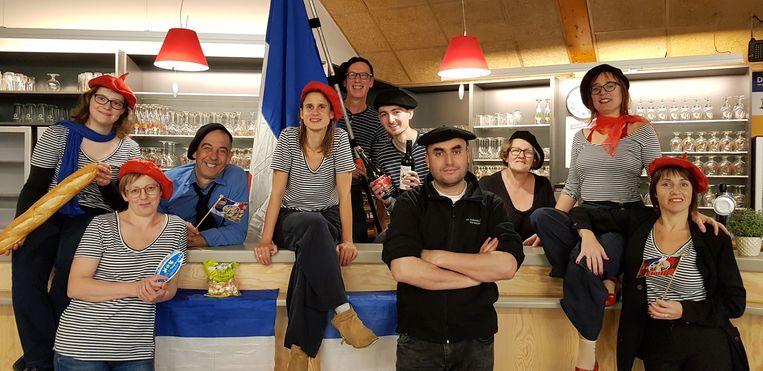 Het team van het Cultureel Centrum Aartselaar, met cultuurbeleidscoördinator Nele Jacobs in het midden.