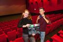 Filmmakers Jasmijn de Knoop en Laurian Serno.