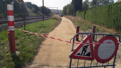 Werken aan voetweg, Kauwereelstraat en Waversebaan lopen op hun einde