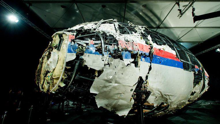 Bij de MH17-ramp kwamen alle 298 inzittenden om het leven, van wie 196 Nederlanders. Beeld ANP