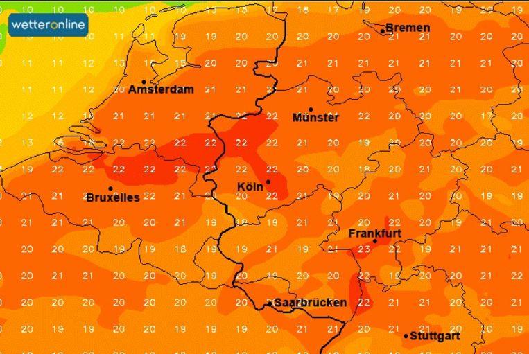 Vanaf donderdag is het al zon wat de klok slaat met temperaturen tot 20 graden en meer. Zaterdag zou voorlopig de zachtste dag worden, met in de Kempen tot 23 graden.