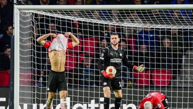 Pijnlijke avond PSV met late nederlaag tegen AS Monaco en blessures Gakpo en Madueke