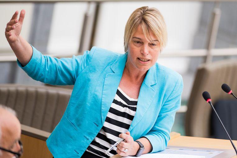 Minister van Omgeving Joke Schauvliege (CD&V). Beeld BELGA