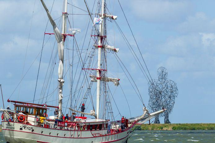 Zeilschip Bounty heeft toestemming om met een beperkt aantal gasten vanuit Lelystad dagtochten te houden op het IJsselmeer.