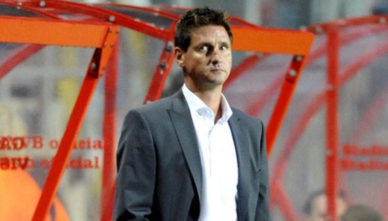 Glen de Boeck, trainer van VVV-Venlo. © PRO SHOTS Beeld