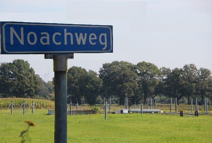 Noach weg? Na ons de zondvloed! Defensie maakt werk van klimaatadaptatie bij het grondstation net buiten Kamp Holterhoek.
